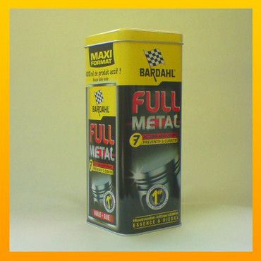 """Metalbox"" : BARDAHL ""FULL METAL"" Longlife-Ölbehandlung in der  ""Metalbox"" - 400 ml – Bild 2"