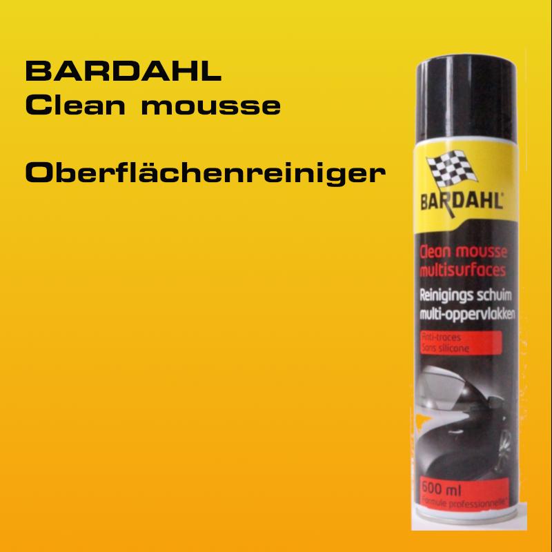 BARDAHL Clean Mousse Spray - Schaumreiniger 600 ml