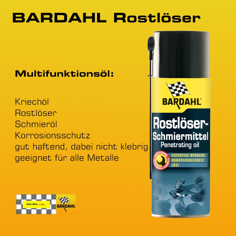 BARDAHL Rostlöser Spray - 400 ml