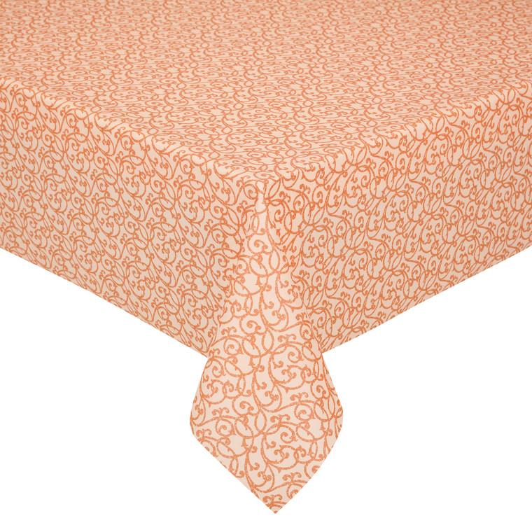 Peyer Tischdecke Barock mit Fleckschutz, verschiedene Größen, terra