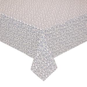 Peyer Tischdecke Barock mit Fleckschutz, verschiedene Größen, blau/grau