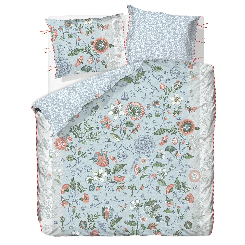 pip studio bettw sche spring to life perkal blue. Black Bedroom Furniture Sets. Home Design Ideas