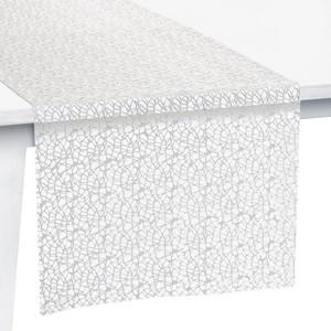 Pichler Tischset Tischband Tischläufer Mitteldecke Network, weiß