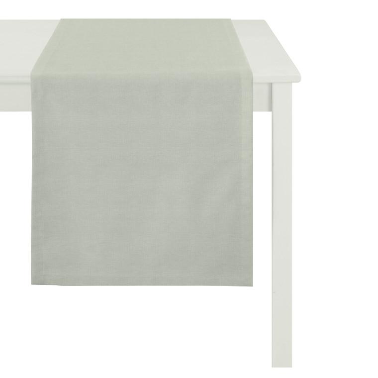Apelt Tischläufer Outdoor Rips, 48 x 135 cm, grau, outdoor geeignet!
