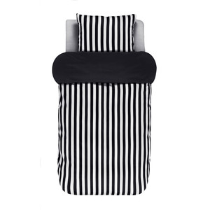 Marc O Polo Home Bettwäsche Classic Stripe, Baumwoll-Satin, black – Bild 1