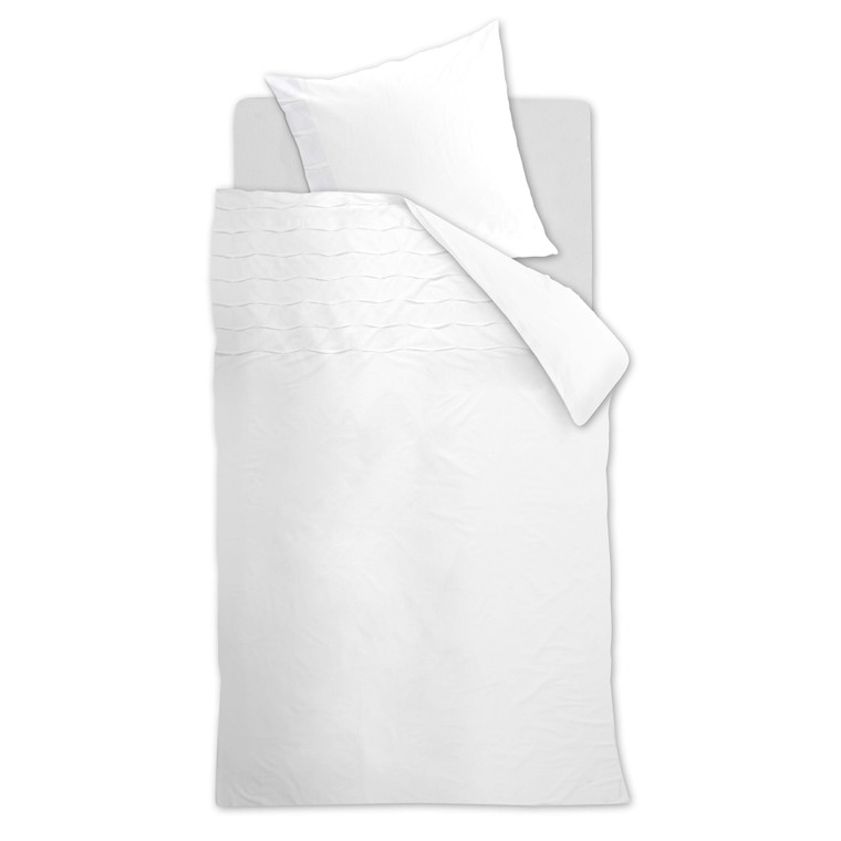 Beddinghouse Bettwäsche Campana, 100% Baumwolle, white