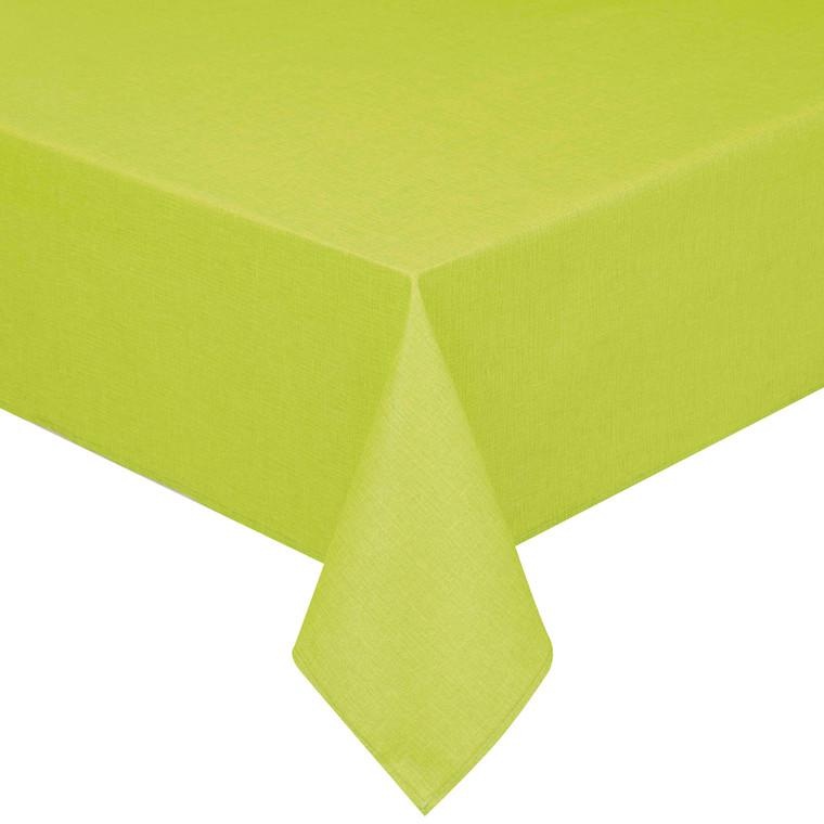 Peyer Tischdecke Oslo mit Fleckschutz, verschiedene Größen, apfelgrün