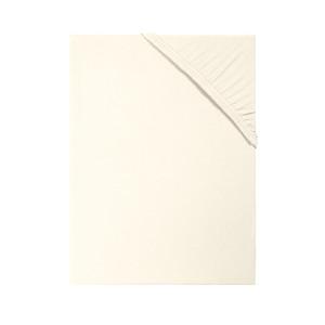 Living Dreams Jersey Spannbettlaken COMFORT, 100% Baumwolle 150 g/qm, natur