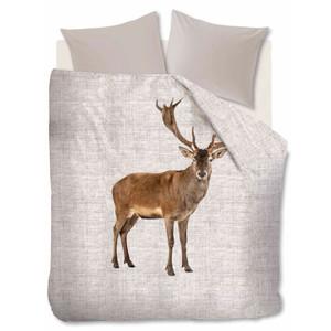 Ambiante Flanell Bettwäsche Cute Deer, sand