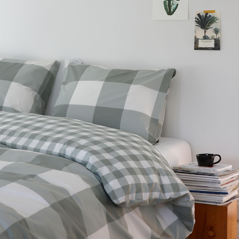 walra bettw sche portland 100 baumwolle jade. Black Bedroom Furniture Sets. Home Design Ideas