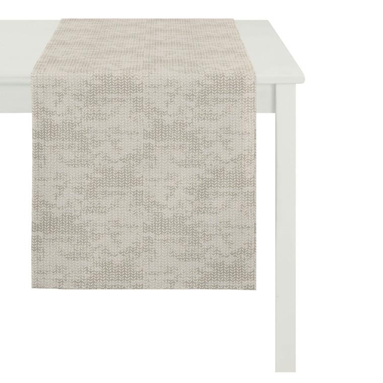Apelt Tischläufer Loft Style, 48 x 140 cm, Fb. 27 (beige)