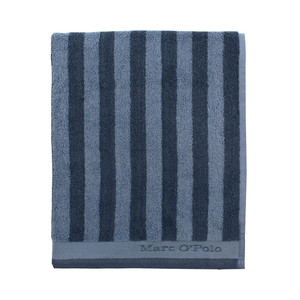 Marc O´Polo Classic Stripe Saunatuch, marine/smoke blue