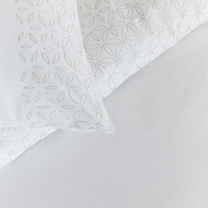 Beddinghouse Baumwoll-Bettwäsche Pearl, natural – Bild 3