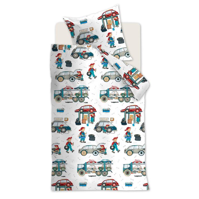Beddinghouse Kinderbettwäsche Car Tools, 100% Baumwolle, multi