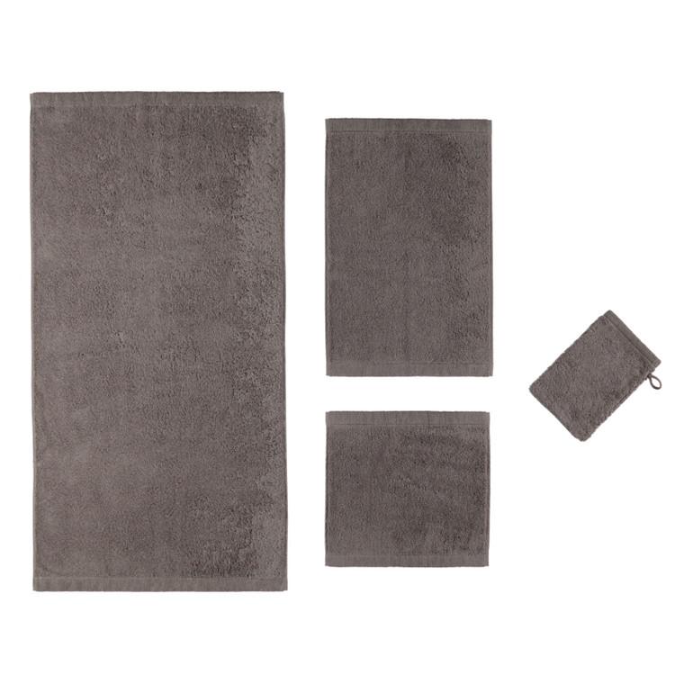 Cawö Lifestyle Waschhandschuh Gästetuch Handtuch Duschtuch, Fb.779 (graphit)