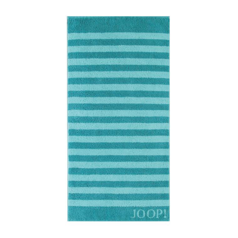 Joop Classic Stripe Handtuch Duschtuch, türkis