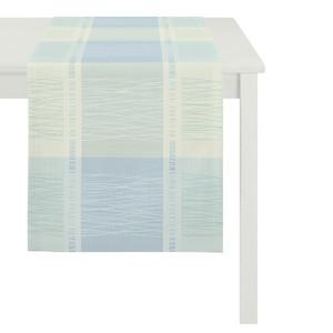 Apelt Tischläufer Como, 45 x 140 cm, aqua