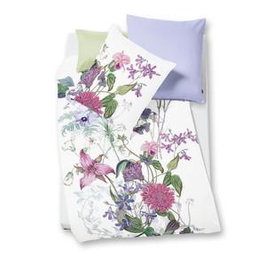 "Fleuresse Mako-Satin Bettwäsche Bed Art ""Paradise"", magnolie"