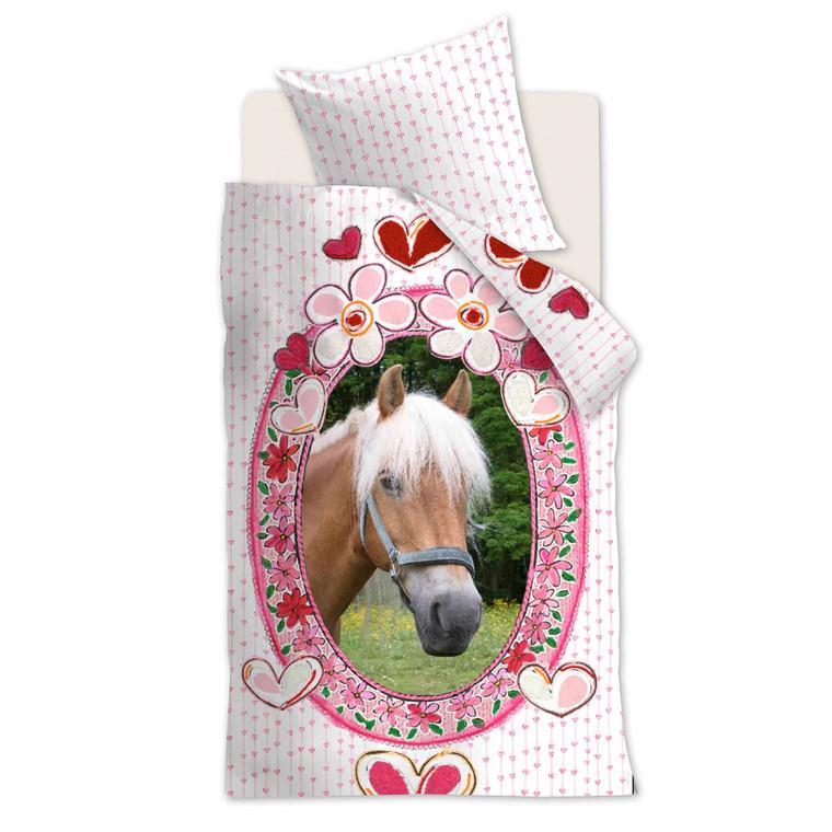 Beddinghouse Kinderbettwäsche Favorites, 100% Baumwolle, pink