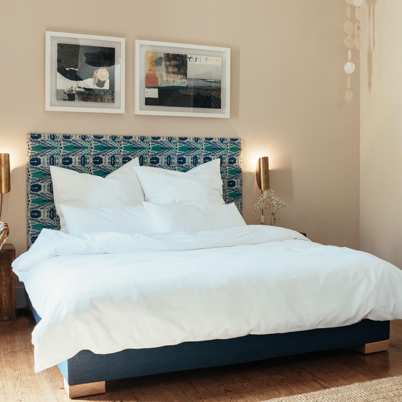 estella bettw sche yellowstone 60 bio baumwolle 40 bio leinen wei. Black Bedroom Furniture Sets. Home Design Ideas