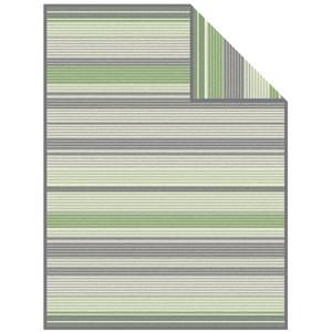 Ibena Wohndecke Velsen, 150 x 200, grau/mint