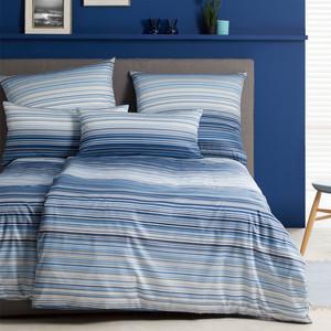 Elegante Comfort-Satin Ocean, blau – Bild 2