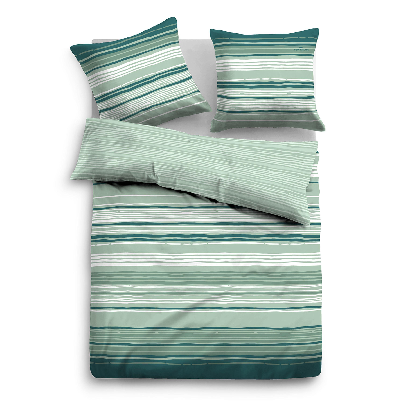 tom tailor satin bettw sche 69857 842 mint bergr e 200 x200 cm. Black Bedroom Furniture Sets. Home Design Ideas