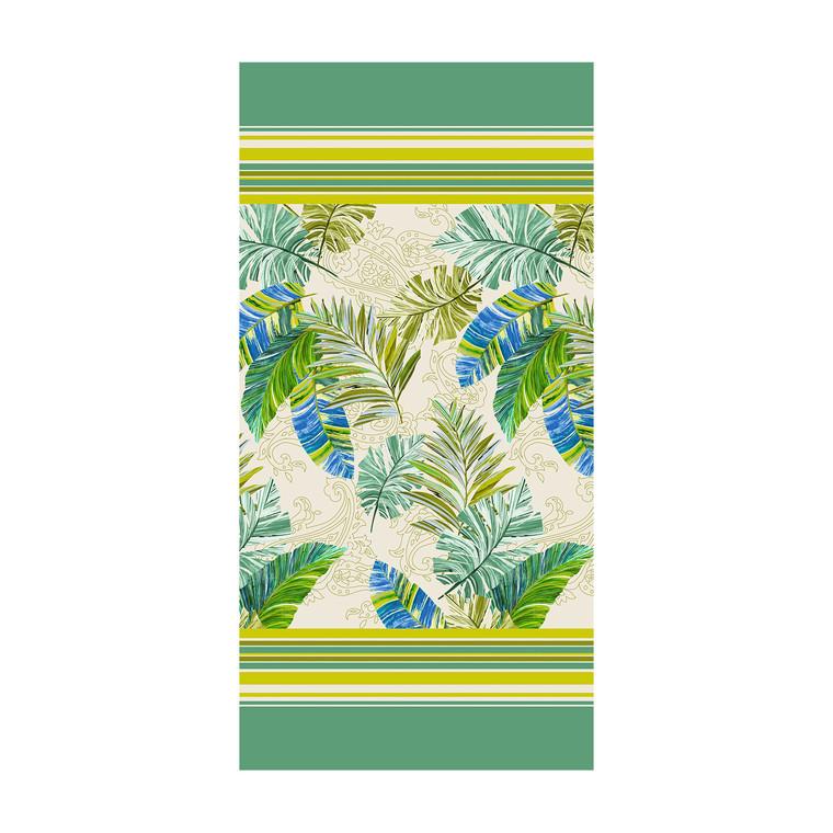 Bassetti Strandtuch Levante V2, 90 x 180 cm, grün