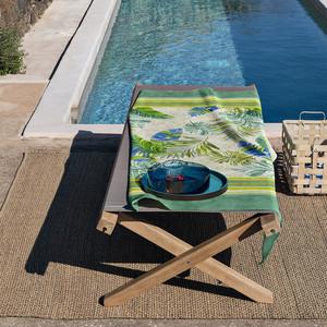 Bassetti Strandtuch Levante V2, 90 x 180 cm, grün – Bild 2