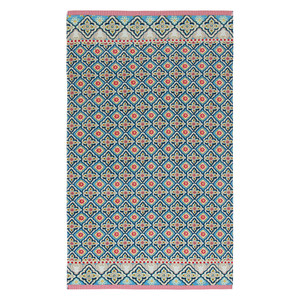Pip Studio Strandtuch Star Check, 100 x 180 cm, blue