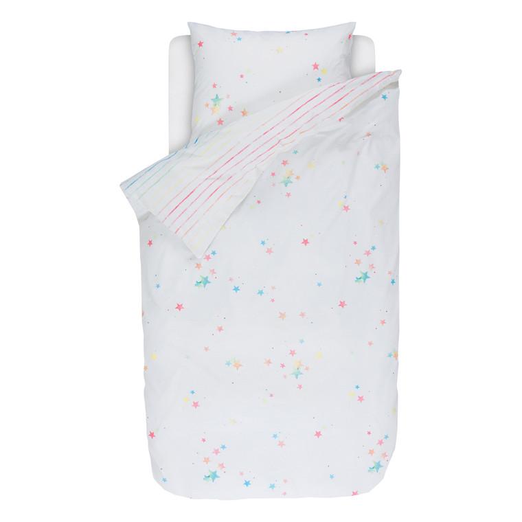 Esprit Kinderbettwäsche Happy Stars, 100% Baumwolle, bunt