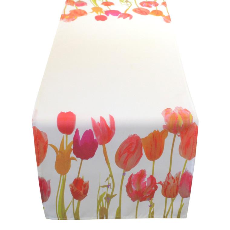 Living Dreams Tischläufer Mitteldecke Tulpen