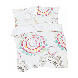 Living Dreams Satin-Bettwäsche Mandala, multi