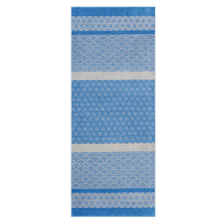Cawö Youki Saunatuch, Fb. 17 blau