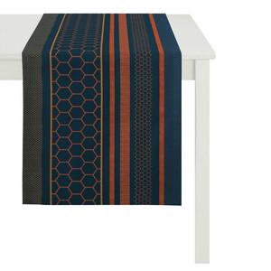 Apelt Tischläufer Loop, 44 x 140 cm, Fb. 10 blau/orange