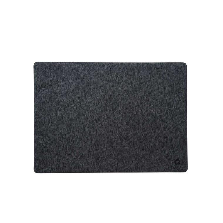 Pichler Tischset Platzset JAZZ aus Kunstleder, 33 x 46 cm, anthrazit