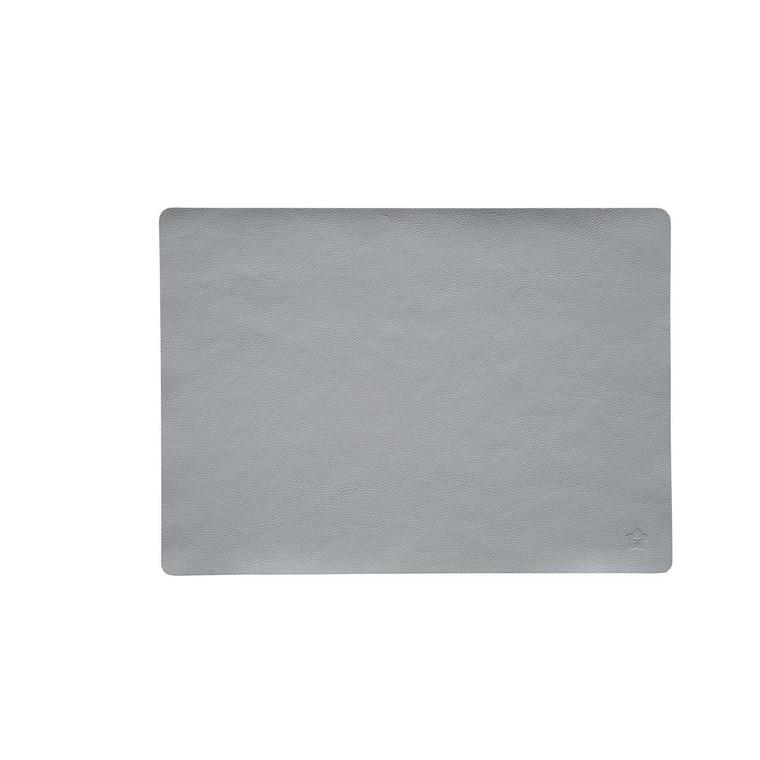 Pichler Tischset Platzset JAZZ aus Kunstleder, 33 x 46 cm, beton