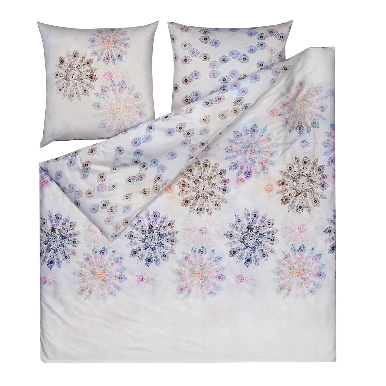 estella mako satin bettw sche cadiz in bergr en bunt. Black Bedroom Furniture Sets. Home Design Ideas