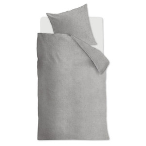 Beddinghouse Flanell Bettwäsche FROST, light grey