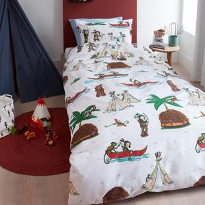 Beddinghouse Baby Kinder Bettwäsche WIGWAM, 100% Baumwolle, multi – Bild 2