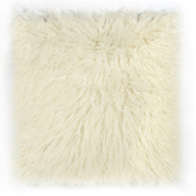 PAD Concept Zottelfell Kissenhülle FLUFFY, verschiedene Größen, white