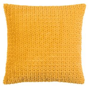 PAD Concept Fleece Kissenhülle DITA, 45 x 45 cm, mustard