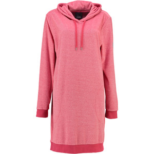 Cawö Velour Bademantel Long Hoodie 818-22, XS - XL, coralle – Bild 1