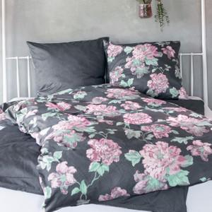 Zeitgeist Mako-Satin Bettwäsche 5885-450, rosa – Bild 2