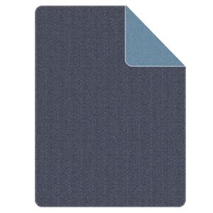 s.Oliver Jacqard Wohndecke, 150 x 200 cm, blau