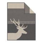 Ibena Wohndecke STORD, 150 x 200, grau/beige 001
