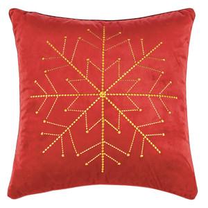 Pad Samt Kissenhülle ICE, 45 x 45 cm, red