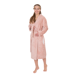 Wewo Damen Bademantel BAMBOO 4021, S - XXL, rose