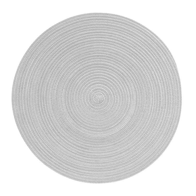 Pichler Tischset SAMBA, rund 38 cm, beton
