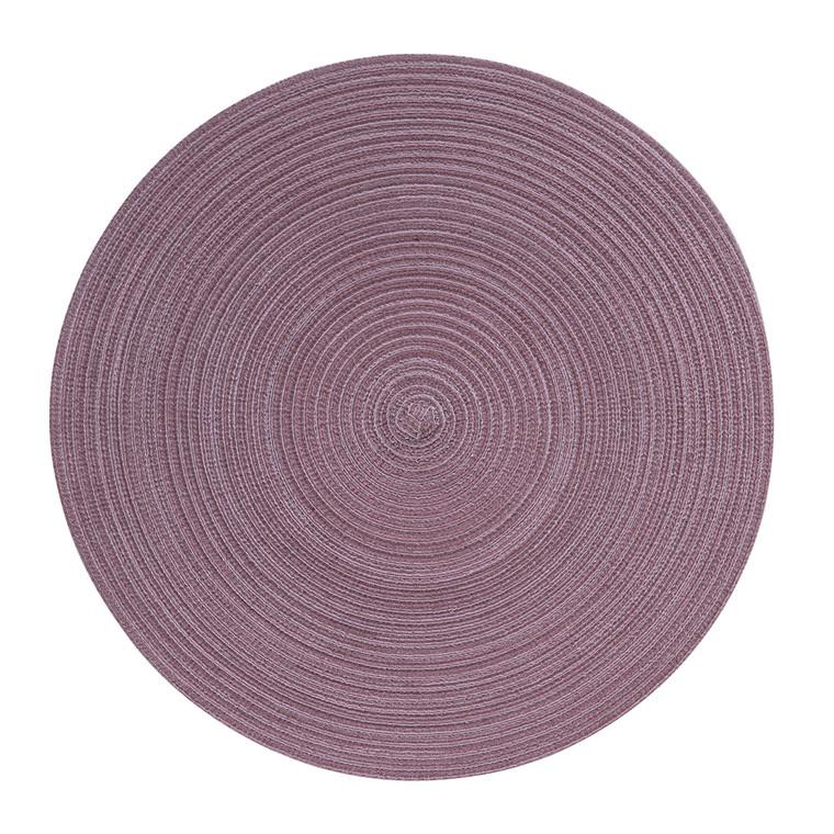Pichler Tischset SAMBA, rund 38 cm, mauve